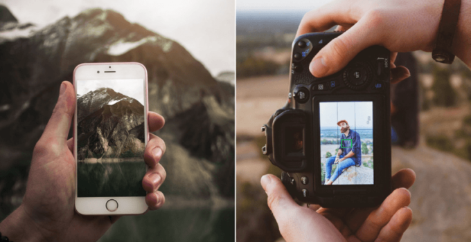 point and shoot cameras better than smartphones